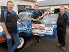 CORNER COUNTRY: Team Tru Blu II members Trevor Twyford, Wayne Goodfellow and Russell Chapman are participating in this year's Endeavour Rally.