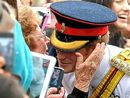 SHE is the grandmother who has appeared in Woman's Day in a picture of her kissing Prince Harry.