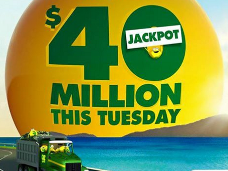One lucky person is $316,000 richer and doesn't know it yet.