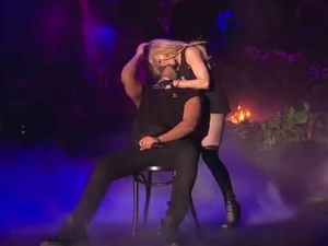 Madonna's kiss on Drake looked more like sexual assault