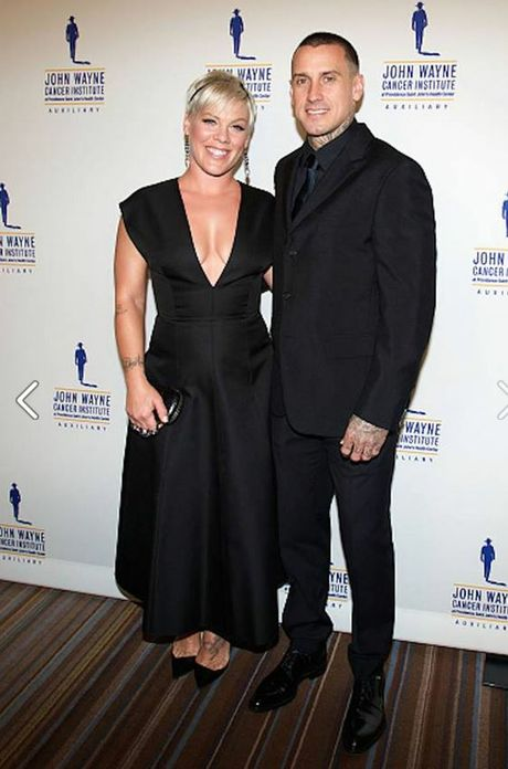 P!nk and Carey attended the 30th Annual John Wayne Odyssey Ball