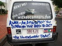 6c5821d8f76946 View Gallery. The ASB has received more than 80 complaints against Wicked  Campers ...