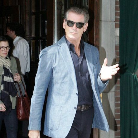 Former James Bond actor Pierce Brosnan