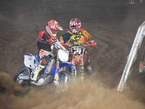 Dalby motocross kick up the dirt at the Dalby Show