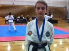 Taekwondo teen champ adds more medals to his tally