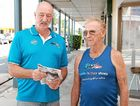 MATES FOR MATES: Whitsunday Bald Eagles president and Walk a Mile in Their Shoes organiser Jack Lumby and Tas Taylor are drumming up support for their Whitsunday Mates Looking After Mates suicide prevention program.
