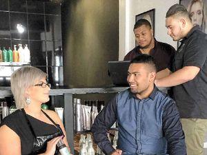 Toowoomba barbers sharpen skills