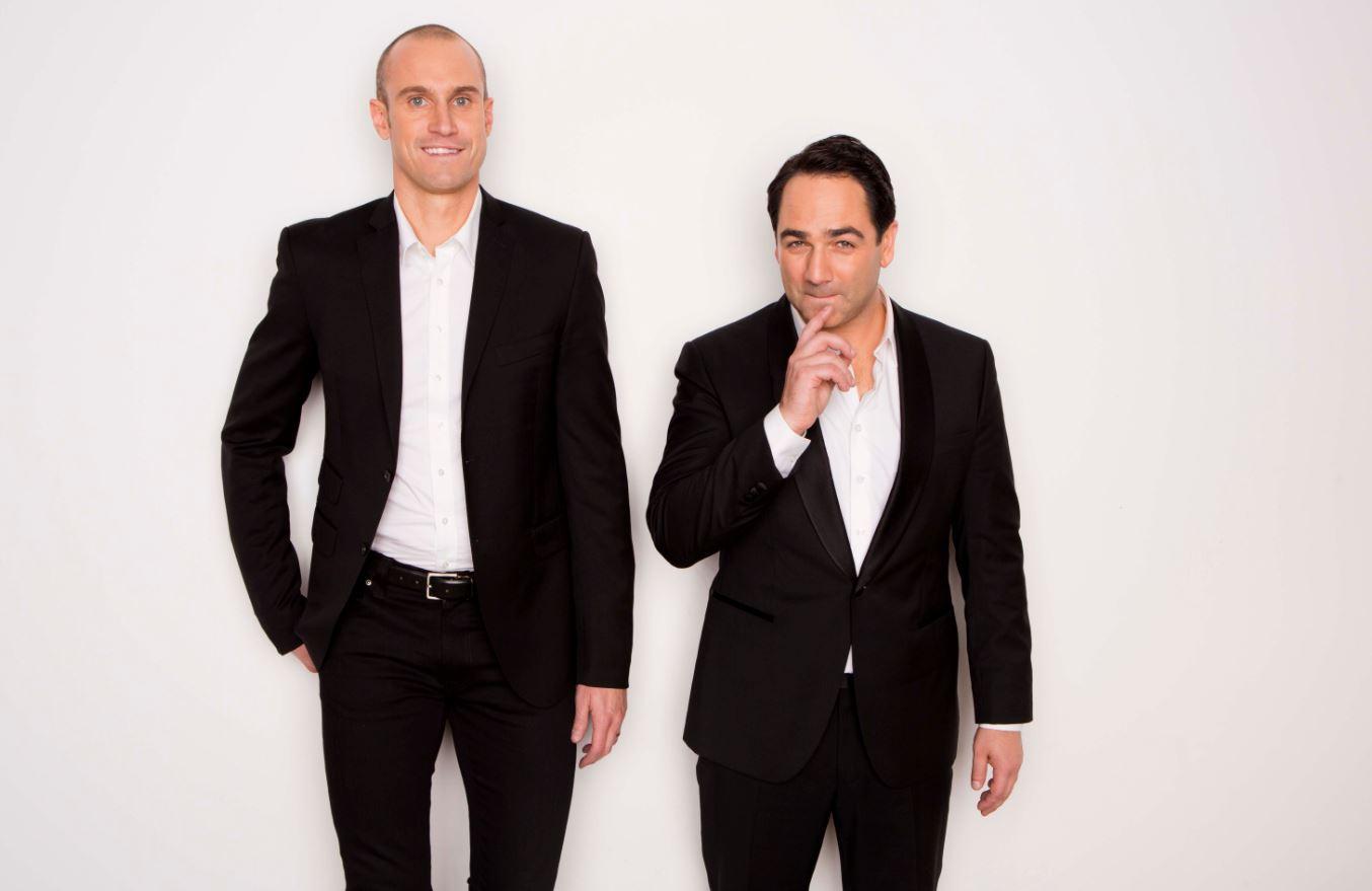 Sydney's Nova FM hosts Fitzy and Wippa