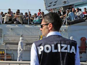Human trafficker threw dead migrant to the sharks