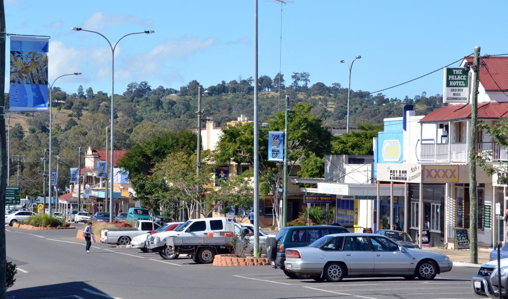 The Nanango streetscape will change road conditions in town.