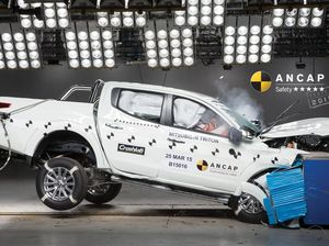 Mitsubishi truck gets five stars but BMW and Mini get four