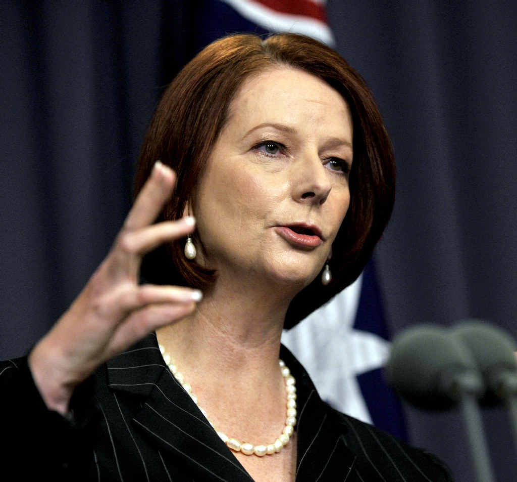 SHE'S COMING: Former Prime Minister Julia Gillard will take part in this year's Byron Bay Writers Festival.