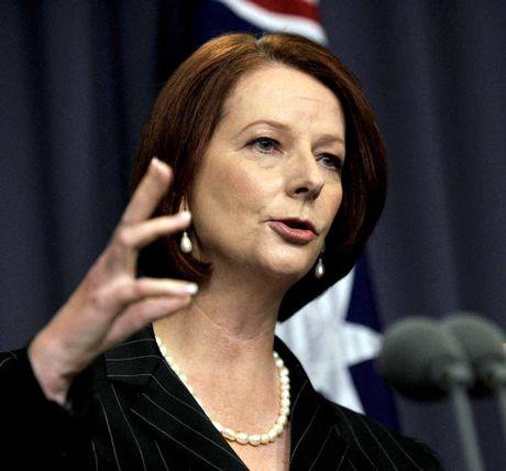 Former PM Julia Gillard