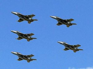 Super hornets to fly over Evans Head for defence training