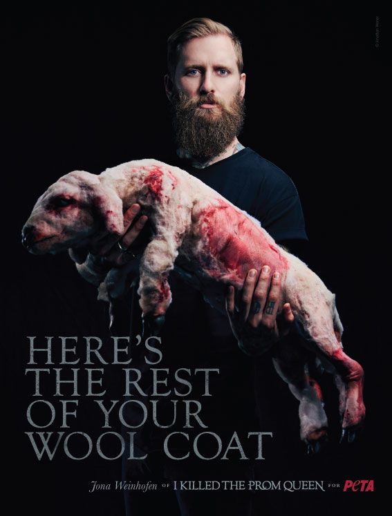 The PETA ad sparking controversy