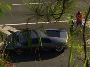 Ouch! Man crashes uninsured luxury Lamborghini on Coast
