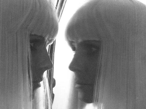 Heidi Klum dressed as Sia
