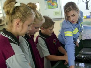 Students get a taste of a careers in resources
