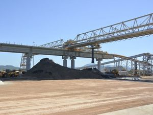 Coal terminal designed to standard for earthquakes