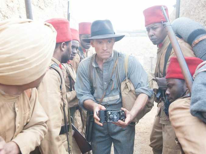 Sam Worthington in a scene from the mini-series Deadline Gallipoli.
