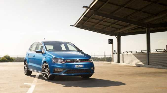The VW Polo GTI.