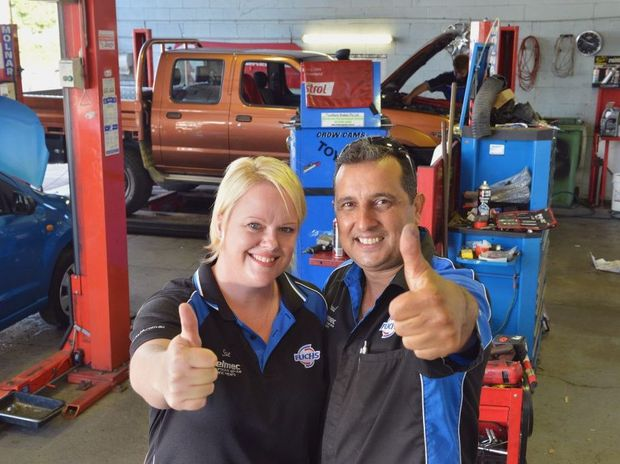 Winner of the top 10 mechanics on Gympie Times Facebook is Velmec Automotive Service and Repairs. Husband and wife team Paul and Sue Vella would like to thank all their followers. Photo Greg Miller / Gympie Times