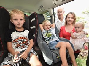 YOUR STORY: Hervey Bay couple invent child car safety device