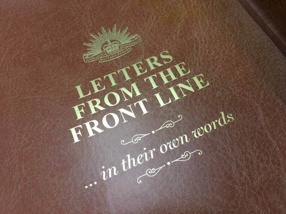 Letters From the Front Line is a joint project between the Fraser Coast Chronicle and the Maryborough Wide Bay and Burnett Historical society.