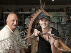 Horse sculpture sparks friendship with welder