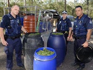 Raids seize cannabis in Coominya
