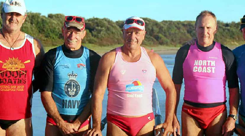 KEEN ROWERS: Woolgoolga rowers will be part of the historic re-enactment of the Gallipoli landings, along with other Northern NSW surf clubs.