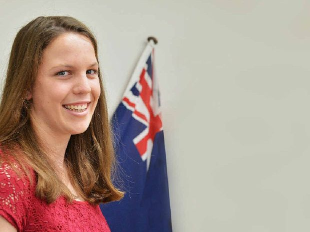 OUR VOICE: Southside's Elise Forward, from Cooloola Christian College, will represent the young people of Gympie electorate at this year's YMCA Youth Parliament in Brisbane.
