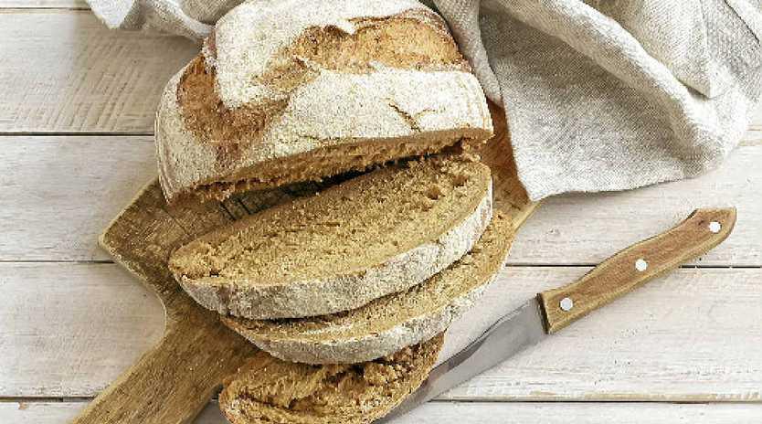 Basic white bread.