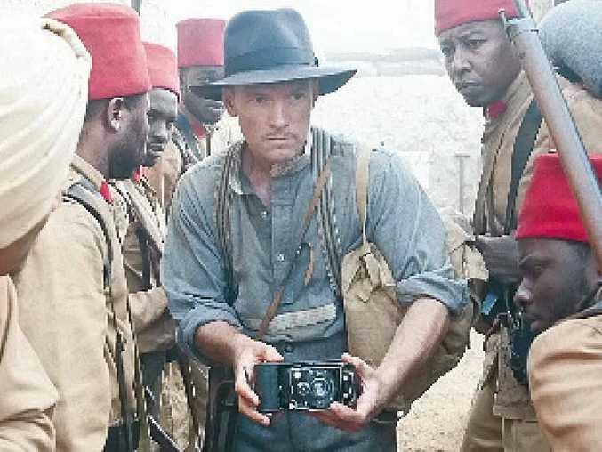 Sam Worthington in a scene from Deadline Gallipoli.