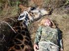 Huntress does not regret killing giraffe 'for one second'