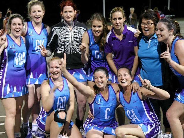 WE'RE THE CHAMPIONS: Alloway 1, Division 1 winners, are set to embrace a new era in netball.