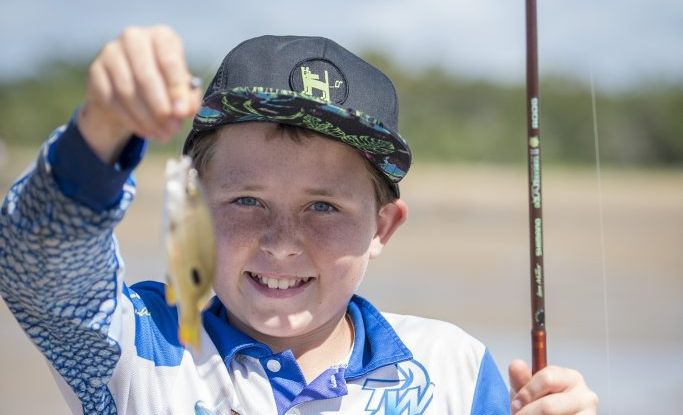Brodie Hayes, 12. - Fishing the waves at Canoe Point, a class held by Johnny Mitchell showed kids and teens tip on how to catch a beauty.