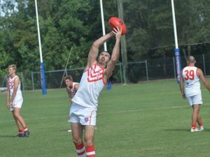 Eastern Swans celebrated their captain's 300th match