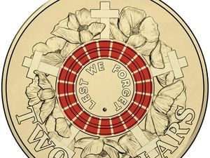 New $2 coin going into circulation today honours Anzacs