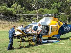 Busy weekend for Budaberg's CareFlight Helicopter