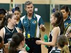 TERRIFIC TACTICS: Ipswich Force coach Calvin Hegvold and his assistant Amelia Jackwitz encourage their players during their under-14 state titles domination.