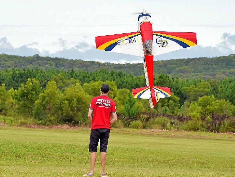 Pilots show off at Model Aircraft National Championships