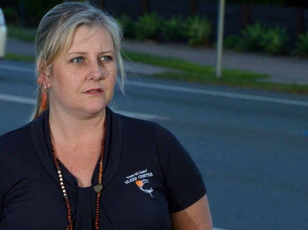 CAMPAIGNER: Kirsty Moss is calling for a number of initiatives to help ensure driver safety after her brother's death in a crash on the Bruce Hwy at Kybong in 2008.