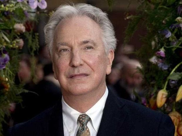 British actor Alan Rickman arrives at the UK premiere of 'A Little Chaos' in London, Britain, 13 April 2015. The film is released in British cinemas on 17 April. EPA/HANNAH MCKAY