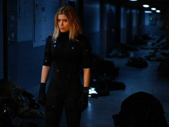 Kate Mara in a scene from the movie Fantastic Four.