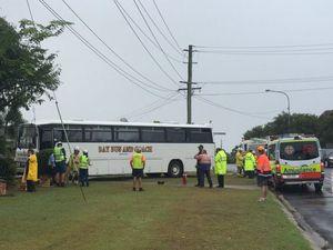 School bus crash in Pialba