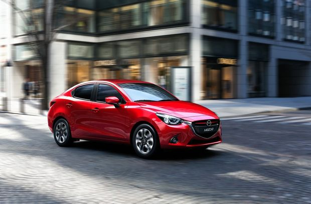 The Mazda2 sedan will return for the first time since 2010.