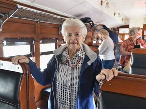 Historic troop train carries digger's name