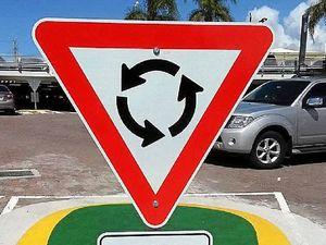 Big Top sign bungle amuses locals