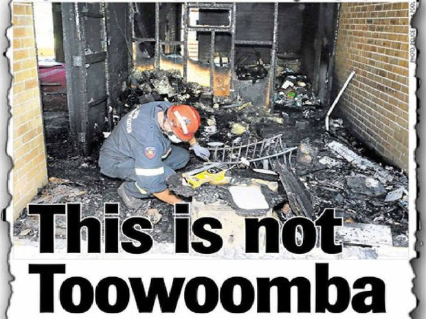 INTOLERANCE: The Chronicle's front page story after the attack on the mosque.